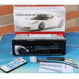 2019 автомобильное зарядное устройство dvd 12V Bluetooth Автомобильный радиоприемник Стерео FM MP3 Аудио 5V-зарядное устройство USB SD AUX Автоэлектроника In-Dash Авторадио 1 DIN NO DVD JSD-520 дешево автомобильное зарядное устройство dvd