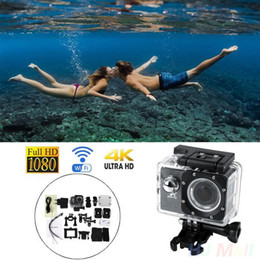 "Wholesale Cam Accessories - Wholesale- Original High Quality 4K SJ9000 WiFi Waterproof Sport Action Camera 2.0"" Inch 1080P HDMI Cam DV Sport Action DV Accessories"