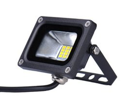 Wholesale Warm White Led Flood 12v - 10W LED Flood Light Waterproof Floodlight Landscape LED Outdoor Lighting Lawn Lamp Warm White Cold White IP65 FREE SHIPPING MYY