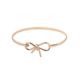 Wholesale Christmas Decorations Traditional - Bangle New Fashion Jewelry Hot Open bangle bracelet for women 2017 love Retro Wholesale gift 2 color spring butterfly decoration