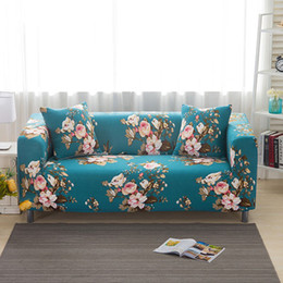 Wholesale furniture products - Sofa Cover Slipcover New Product Single Two Three Four-Seater Stretch Furniture Covers Sofa Slipcovers Scenic Funda Sofa
