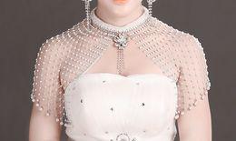 Collar de encaje de diamantes online-2017 venta caliente después de clásico YaBai crystal diamond lace lace collar accesorios de epaulets de novia
