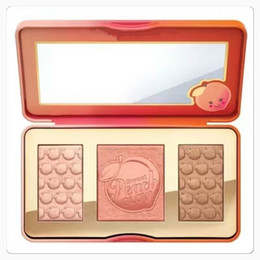 Wholesale Cosmetic Items - Sweet Peach Glow Infused Highlighting Palette Long-lasting Natural Face Cosmetics New Brand High Quality hot item