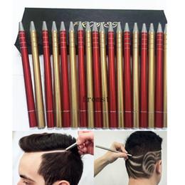 Wholesale Tattoo Pen Tool Machines - 2017 Hot Fromst Super razor pen hair tattoo haircuts hair clipper eyebrown machine barber cutting hair design Tool Stock DHL