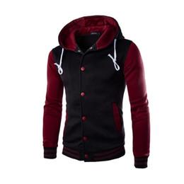 Wholesale Men Wholesale V Necks - Wholesale- Winter Jacket Men 2016 Coat Outwear Winter Slim Hoodie Warm Hooded Streetwear 2017 New Arrival for Christmas gift #OR