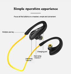 Wholesale Apt X - Bluetooth Earphones Wireless Headphones with Microphone For Phone Bluetooth V4.1 APT-X Sport Auriculares kulakl