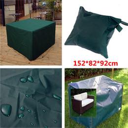 Wholesale Patio Garden Table - Wholesale- New Arrival 152x82x92cm Woven Polyethylene Outdoor Furniture Cover Garden Patio Coffee Table Chair Waterproof