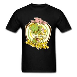 Wholesale Cool Cheap Tees - Great Crewneck Mens Jaw Breaker Tee Shirts Wholesale Cheap Adult Natural Cotton Tshirt Cool O-Neck Tops