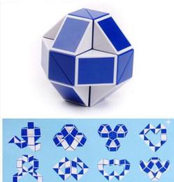Mini Cube Magique Creative 3D Jeu De Forme De Serpent Jouets 3D Cube Puzzles Twist Puzzle Jouets Intelligence Aléatoire Jouets Supertop Jeux ? partir de fabricateur