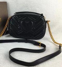Wholesale Vintage Pu Leather Handbag - high quality women Fashion luxury designer handbags leather backpack bags for women Chain shoulder bag ladies handbags cross Body bag