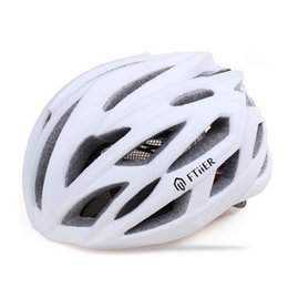 Wholesale helmet cycling mountain bike - 2017 hOT New Style Ftiier Brand Safety Professional Mountain Road Bike Bicycle Helmet Riding Cycling Helmet