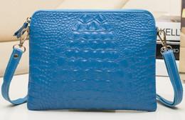 Wholesale Navy Blue Leather Handbags - bag purse wholesale clutch women shoulder handbag lady new arrive JP AU France CA wallet crocodile Togo genuine leather bag Paris US KR