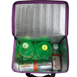Wholesale Soft Box Large - Wholesale- Large capacity outdoor Pinic bag ice pack coller storage foldable portable soft drink box