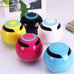 Wholesale Sd 8gb Mp3 - Free DHL Mini Bluetooth Speaker Column Speaker Bluetooth Portable FM Radio MP3 Caixa De Som Amplifer With 2GB 8GB SD Card Loudspeaker