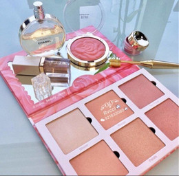 Wholesale Gold Highlighter - Dropshipping 2017 new Violet Voss rose gold limited Edition Makeup palettes shimmer highlighters Eyeshadow Palette set 6 Colors Eye Shadow