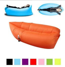 Wholesale Double Bag Chair - Lounge Sleep Bag Lazy Inflatable Beanbag Sofa Chair, Living Room Bean Bag Cushion, Outdoor Self Inflated Beanbag Furniture