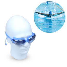 Wholesale Creative Swimming Goggles With Silicone Ear Plugs Anti Fog UV Protection for Adult Men Women Youth Kids Child