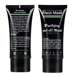 Wholesale Black Heads Removal - Shills Purifying Peel Off Black Mask Deep Cleansing Blackhead Remover Acne Treatment Black Heads Removal Nose Pore Cleaner Mud Facial Mask