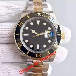 Wholesale Eta Dive Watch - Noob 1:1 V7 Eta 3135 sapphire dive Ceramic bezel Watch Men mens Luxury watches top brand luxury mechanical Automatic Wristwatch 116613