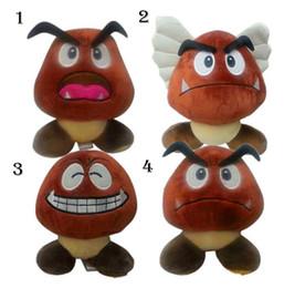 Wholesale Goomba Doll - Plush Toys Super Mario Doll Brown Goomba Stuffed Animal Plush Doll Toy New With Tag 15cm YYA669
