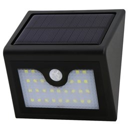Wholesale Mask Human - 28 led new human body infrared induction led lamp body diamond mask small street lamp solar wall lamp solar lights for Outdoor, Door, Garden