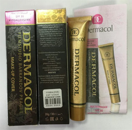 Wholesale Make Up Mix - Dermacol Concealer Base Make up DERMACOL Makeup Cover Extreme Covering Foundation Hypoallergenic Waterproof 30g Dermacol 13 color