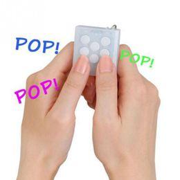 Wholesale Pop Cubes - Anti Stress Toys Electronic Bubble Wrap Keyring Pop Infinite Keychain fidget cube