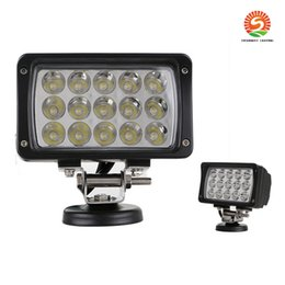 Wholesale White Led Work Light Bar - 6inch 45W LED Work Light Bar White Spot Flood Beam Lamp For Mine 4WD 4x4 SUV ATV BoatTruck Car Working Lamp