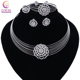 Wholesale Cheap Women Necklaces - New Multi Layer Maxi Necklace&Pendant Metal Vintage Chokers Hot Sale Cheap Collar Statement Women Collier Earing Ring Bracelet