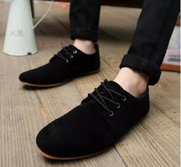 Wholesale Ventilating Lace - 2017 Hot New Men Summer fresh ventilate Cavans Casual Lace up Loafers Slip on Shoes--free shipping