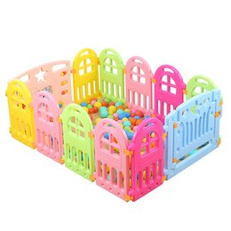 Wholesale Indoor Play For Kids - Best Selling Baby Playpens Indoor Baby Game Playpen Kids Play Yard Barrier Fencing for Children Playhouse Game VE0367