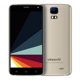 Wholesale Dual Sim S3 - Original VKworld S3 5.5 Inch HD Screen Mobile Phone MTK6580A Quad Core Android Phone 1GB RAM 8GB ROM 13MP Free DHL