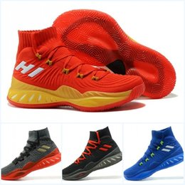 Wholesale Crazy Ups - Mens Basketball Shoes Real Boost Men J Wall 3 Boost Andrew Wiggins Crazy Explosive PK Primeknit New Casual JW 3 Retro Sports Sneakers Boots