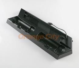 ps4 usb hub Скидка Многофункциональный USB-концентратор зарядное устройство порты для PS4 тонкий вертикальный стенд вентилятор охлаждения зарядки стенд для Playstation 4 PS4 slim контроллер