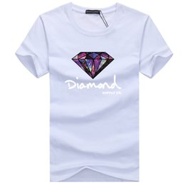 Wholesale Diamond Supply Tees - Diamond Supply Co Printed Man T Shirt New Summer Mens T-shirt Harajuku Casual Hip Hop Cotton Tees camisa