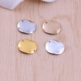 Wholesale Jewellery Charms Wholesale - Wholesale Smooth Round Charms for jewellery handmade round pendant Diy Findings Accessories 4 Colors Copper Top quality wholesale