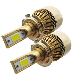 Wholesale Halogen Lamp Kit - 110W 20000LM 110W Conversion Kit Car Beam Bulb Driving Lamp 6000K