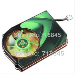 Wholesale Graphic Card Sleeves - Wholesale- New sleeve Bearing 12v 2pin 43mm PC Computer VGA Video Cooler Cooling Heatsink Fan
