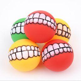 Cola para dentes on-line-7.5 cm Suprimentos para animais de estimação Brinquedos Super chateado Evade Cola Dentes de bola Mordidas de cachorro Brinquedos para cães Produtos para animais de estimação Necessidades mastigáveis