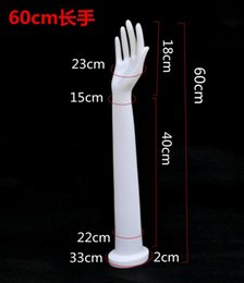 Wholesale Mannequins For Jewelry Display - Freeshipping 60CM jewelry jewelry display hand Female,Cheap Date Ladies Jewelry Mannequin Hands For Sale,1pair,shooting props,M00533