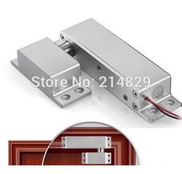 controle remoto de acesso remoto Desconto Venda por atacado - porta de alumínio e controle de acesso do portão elétrico fail-safe modo elétrico parafuso de bloqueio para controle de acesso DC10V ~ 15V