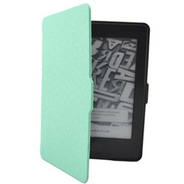 Wholesale Kindle Paperwhite Pink - Wholesale-Hot selling Ultra Slim Magnetic Case Cover For Kindle Paperwhite 1 2 3 High Quality 1pc Mar.31