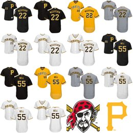 Wholesale Andrew Mccutchen Jersey - 2017 Men Lady Kid Toddler Pittsburgh Pirates 22 Andrew McCutchen 55 Josh Bell White Gray Black Gold Cheap Cool Flex Base Baseball Jerseys