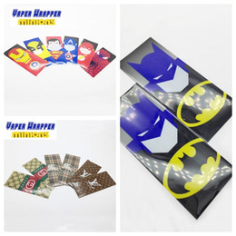Wholesale Protect Flash - Battery Wraper Skin 18650 mod Super Hero sticker Flash Captain America Superman Wrap Re-wrapping batteries surface protected wrapper