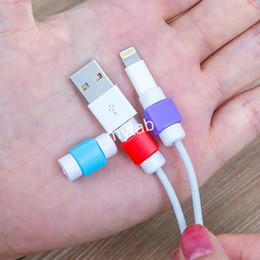 Cabo colorido cabo protetor de proteção usb protetor de cabo protetor saver capa para apple para iphone 5 5s 6/6 s / 6 s além de de Fornecedores de rádios de quansheng