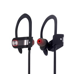 Wholesale Ear Hook Earphones Mic - DXVROC Bluetooth Headphone CSR8635 Wireless Sports Stereo Heavy Bass Headset Bluetooth 4.1 Earphones Noise Cancelling Sweatproof with Mic