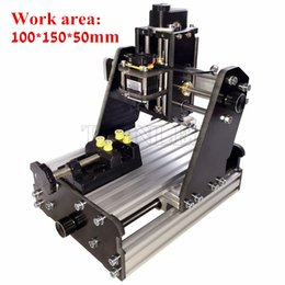 Wholesale 3axis mini diy cnc engraving machine PCB Milling engraving machine Wood Carving machine cnc router cnc control cm