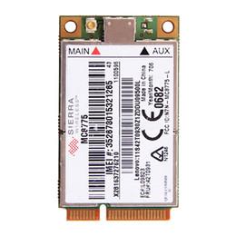 Wholesale Lenovo Unlock - Wholesale- UNLOCKED Sierra MC8775 Wireless 3G WWAN HSPA GSM GPRS EDGE MINI PCI-E Module FRU:42T0931 for IBM Lenovo T61 T61P X61 R61 X300