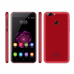Wholesale Android Cell Phone Ips Screen - Oukitel U20 Plus Red 4G Mobile Cell Phone 5.5 Inch IPS MTK6737T Quad Core 2GB+16GB 13MP Dual Back Cameras Fingerprint SmartPhone