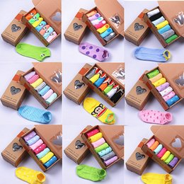 Wholesale Days Week Socks - Wholesale- wholesale 7 pcs   pack Week socks 7 days short Summer sock 2016 Hot Men women personality boat sock